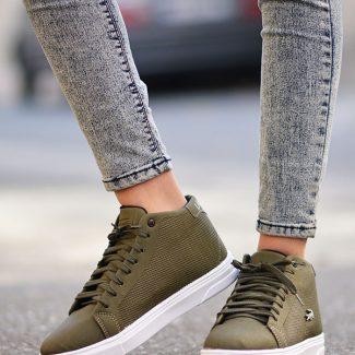 کفش اسپرت لاگوست سبز یشمی