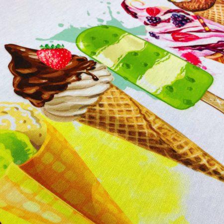 تی شرت آستین سرخود بستنی