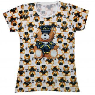 تیشرت دخترانه خرس پلیس