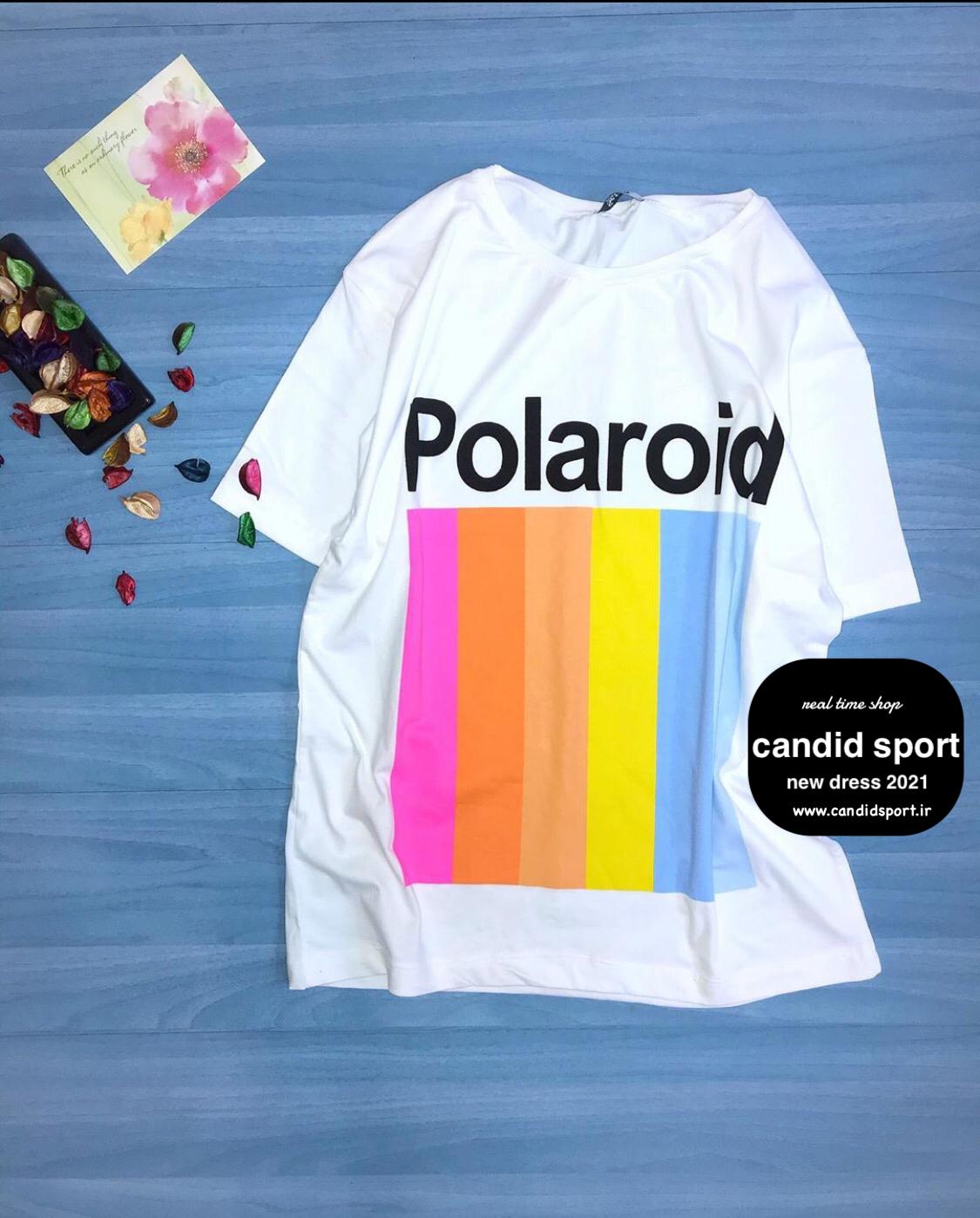 تیشرت polaroid